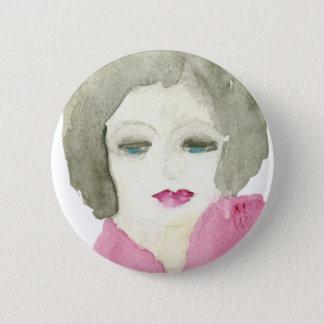 Contemplation Pinback Button