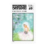 Contemplation Postage Stamp