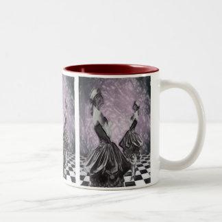 Contemplation Two-Tone Coffee Mug