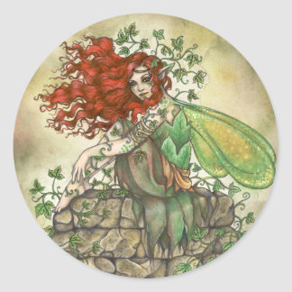 Contemplative Fairy Sticker