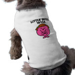 Contemplative Little Miss Wise Dog Clothing