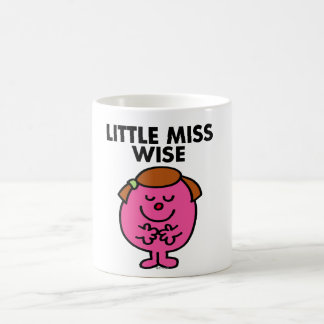 Contemplative Little Miss Wise Classic White Coffee Mug