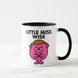 Contemplative Little Miss Wise Mug