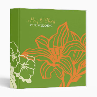 Contempo floral calabaza verde