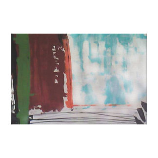 contemporáneo impresión en lienzo