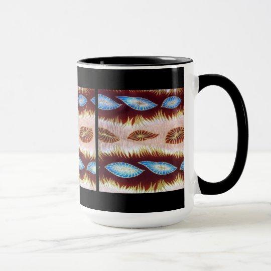 Contemporary Abstract African Design Mug