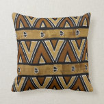 Contemporary: African Style Design Throw Pillows