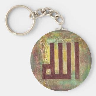 Contemporary Allah Islamic Art Gifts - Eid Ramadan Keychain