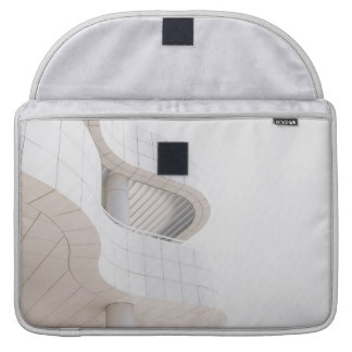 Contemporary Architecture Building Macbook Sleeve