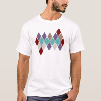 Contemporary Argyle Solid Colors - Tonal Stripe T T-Shirt