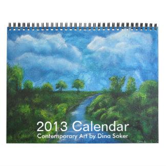 Contemporary art 2013 calendar