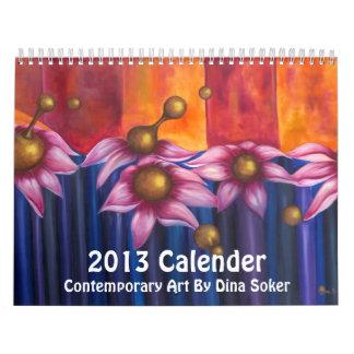 Contemporary Art 2013 Calender Calendar