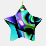 Contemporary Art Christmas Tree Ornaments