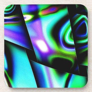 Contemporary Art Beverage Coasters