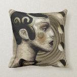 Contemporary:  Art Deco/Art Nouveau Style Pillow