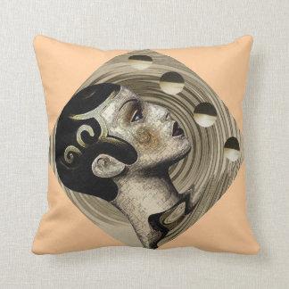 Contemporary:  Art Deco/Art Nouveau Style Throw Pillow