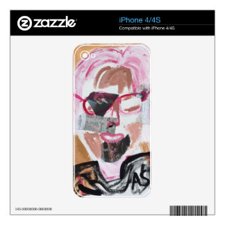 Contemporary Art Design Skin For The iPhone 4