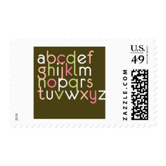 Contemporary Baby | Letters I Stamps