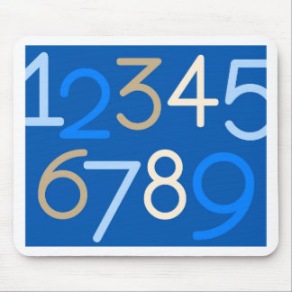 Contemporary Baby | Numbers III Mouse Pad