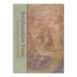 Contemporary Bacchanalia Roman Italian Theme Card