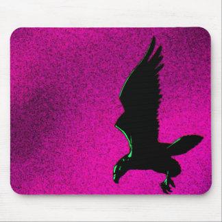 Contemporary Bald Eagle Mouse Pad