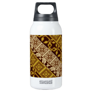 Contemporary Batik Pattern #1 Insulated Water Bottle