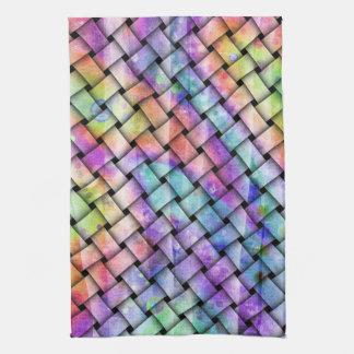 Contemporary BRIGHT WEAVE TOWEL