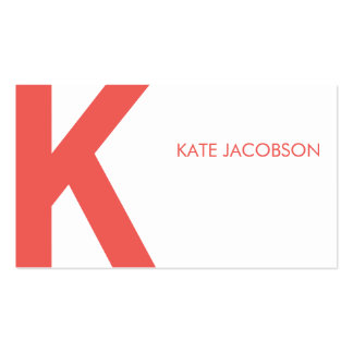 Contemporary Chic Calling Card Double-Sided Standard Business Cards (Pack Of 100)