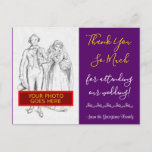 """[ Thumbnail: Contemporary, Chic """"Thank You So Much"""" Postcard ]"""