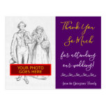 "[ Thumbnail: Contemporary, Chic ""Thank You So Much"" Postcard ]"