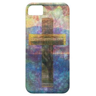 Contemporary Christian Art  Modern Cross iPhone SE/5/5s Case