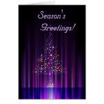 Contemporary Christmas Tree Cards