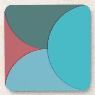 Contemporary Circles Coaster Set