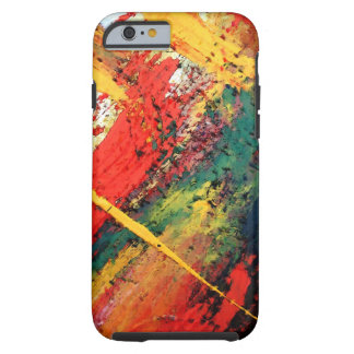 Contemporary Creative Abstract Artwork Tough iPhone 6 Case