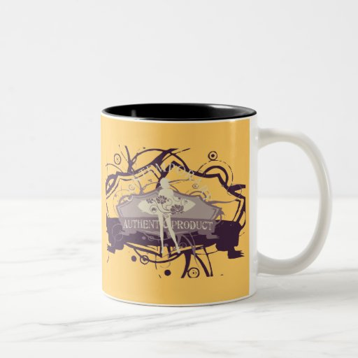 Contemporary Dance T-shirts and Gifts Two-Tone Coffee Mug
