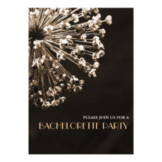 Contemporary Dandelion Wishes Bachelorette Party Announcement