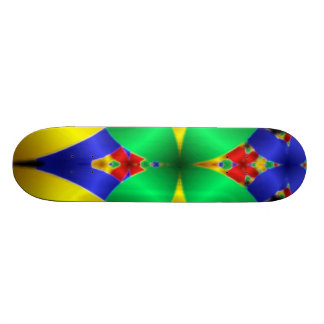 Contemporary Digital Art Skateboards