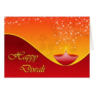 Contemporary Diwali Greeting Card
