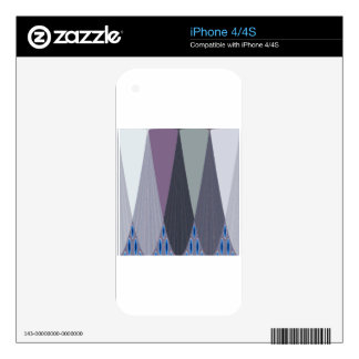 Contemporary Eastaern Design Skin For iPhone 4S