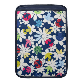 Contemporary Floral Pattern MacBook Air Sleeves