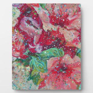 Contemporary Flowerz Display Plaque