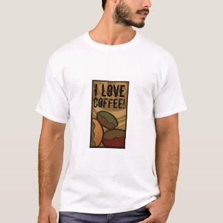 Contemporary, Fun & Colorful Coffee Bean Shirt! T-Shirt