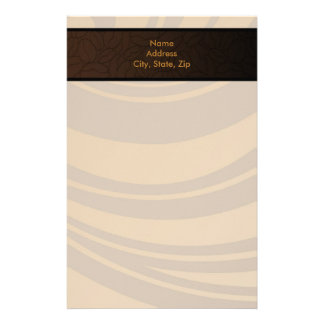 Contemporary, Fun & Colorful Coffee Bean Stationery