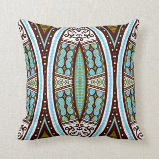 Contemporary geometric tribal scatter cushion throw pillow
