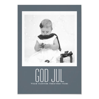 Contemporary God Jul Template Card