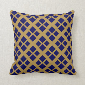 Navy Gold Pillows - Decorative & Throw Pillows Zazzle