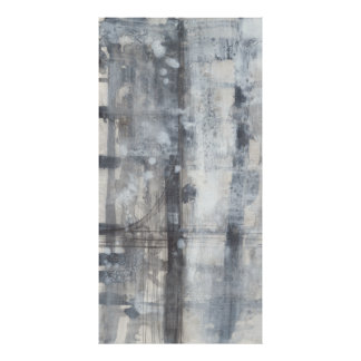 Contemporary Grey Painting Poster