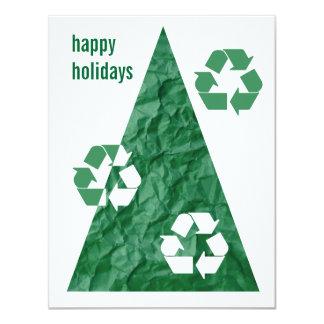 Contemporary Happy Holidays Card