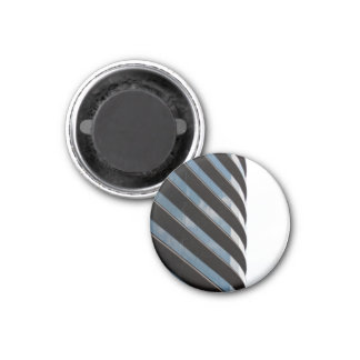 Contemporary High Rise Building 1 Inch Round Magnet