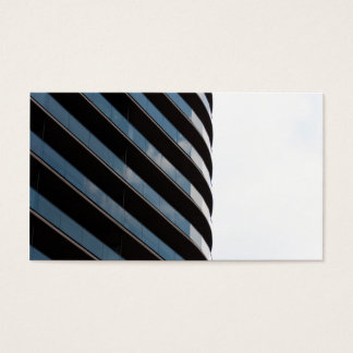 Contemporary High Rise Building Business Card